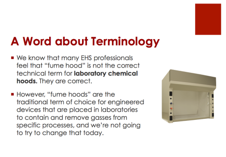 A Word about Terminology